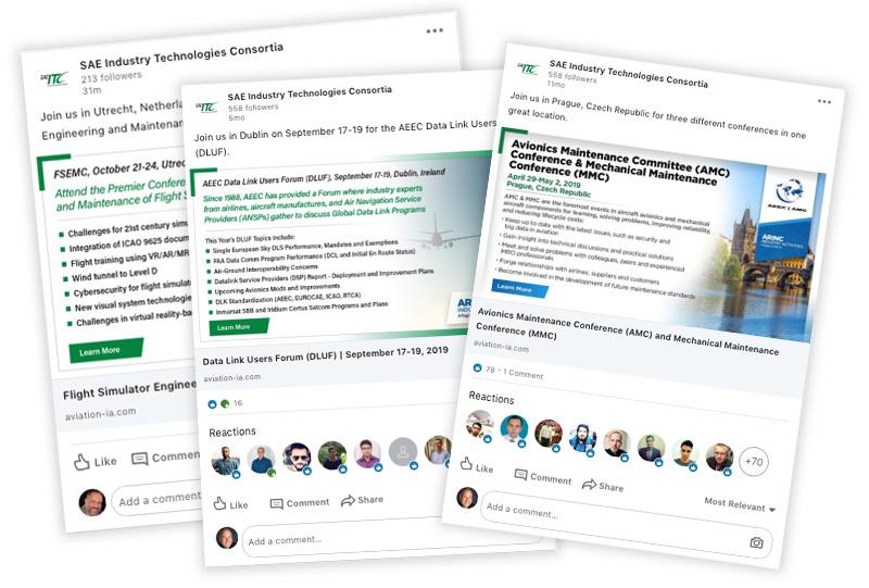 Social media LinkedIn marketing