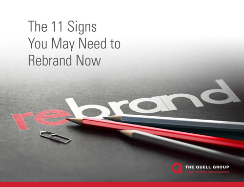 Time to Rebrand? Find Out With Quell's '11 Signs'
